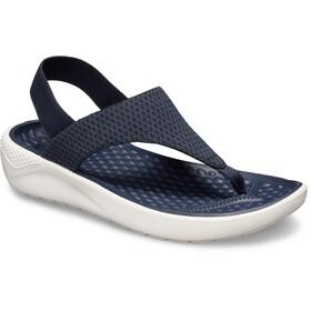 Crocs LiteRide Mesh - Sandalias Mujer - azul/blanco
